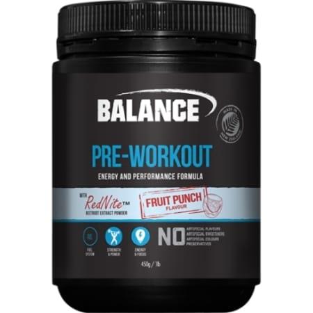 Balance Pre workout