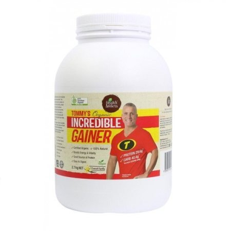 Health Addicts Tommy`s Organic Incredible Gainer 2.7Kg