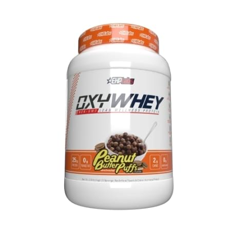 EHP Labs OxyWhey Lean Wellness Protein - Peanut Butter Puffs