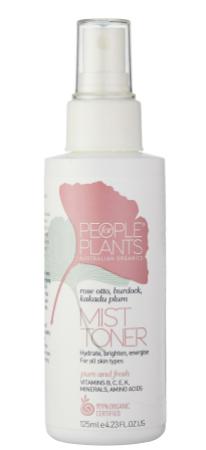 People for Plants Rose Otto, Burdock and Kakadu Plum Mist Toner