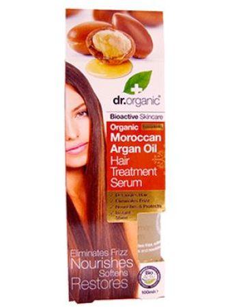 Dr Organic Moroccan Argan Oil Hair Treatment Serum