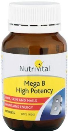 Nutrivital Mega B High Potency