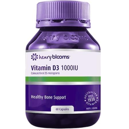 Blooms Vitamin D3 1000IU
