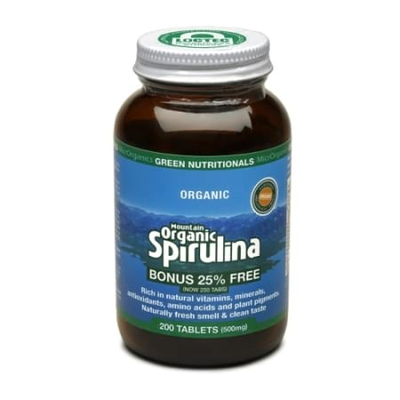 Mountain Organic Spirulina Tablets