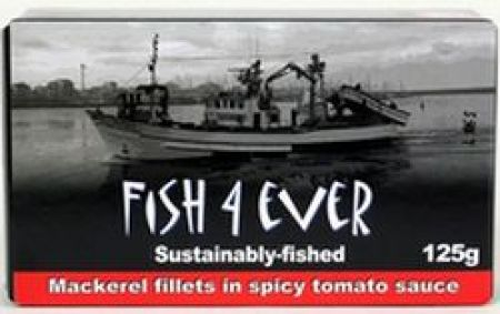 Fish 4 Ever Mackerel Fillets in Spicy Tomato Sauce