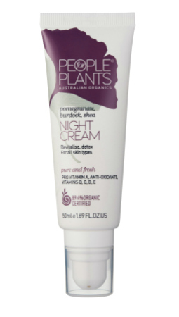 People for Plants Pomegranate, Burdock and Shea Night Cream