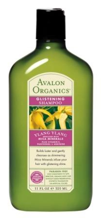 Avalon Organics Glistening Ylang Ylang Shampoo