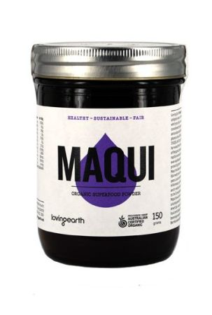 Loving Earth Raw Organic Maqui Berry Powder