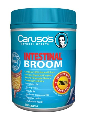 Carusos Natural Health Intestinal Broom