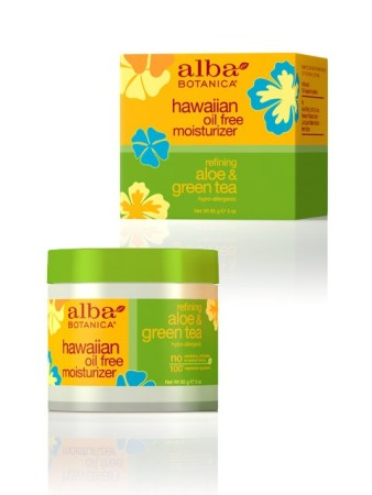Alba Botanica Hawaiian Oil Free Moisturizer Aloe Green Tea