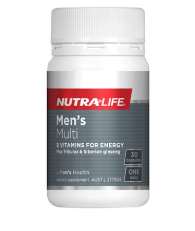 Nutra-Life Mens Multi - 30 Capsules ONLY