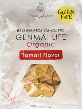 Muso Organic Brown Rice Crackers Tamari