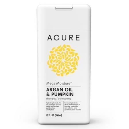 Acure Mega Moisture Shampoo Argan Oil & Pumpkin
