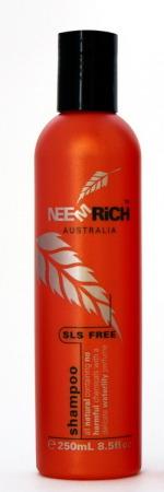All Natural SLS Free Neem Shampoo 250ml