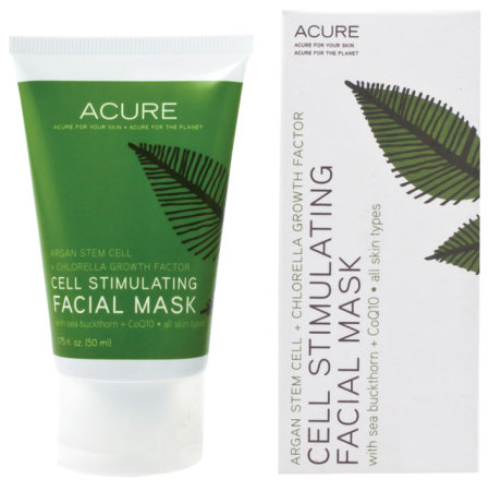 Acure Organics Argan Stem Cell Chlorella Cell Stimulating Facial Mask