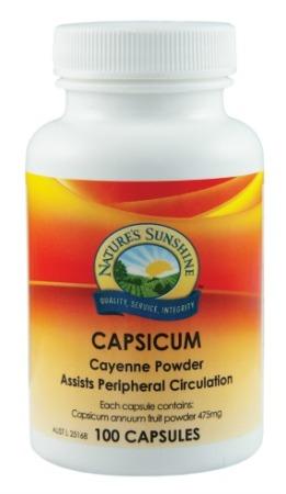 Nature`s Sunshine Capsicum