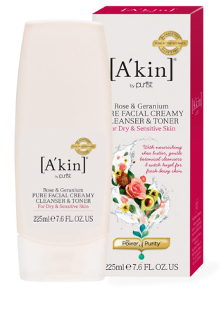 A`kin Creamy Cleanser and Toner in One
