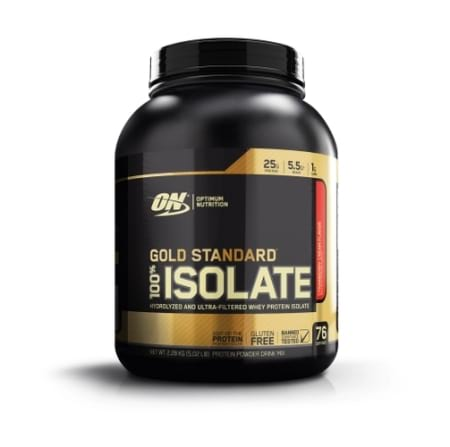 Optimum Nutrition Gold Standard 100% Isolate 76 Serves
