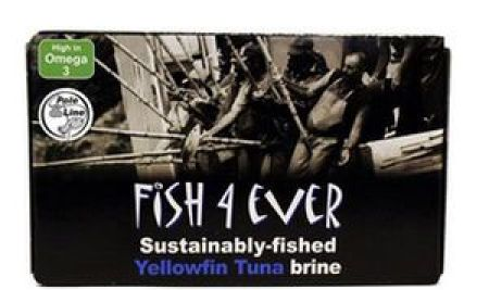 Fish 4 Ever Yellowfin Tuna in Brine