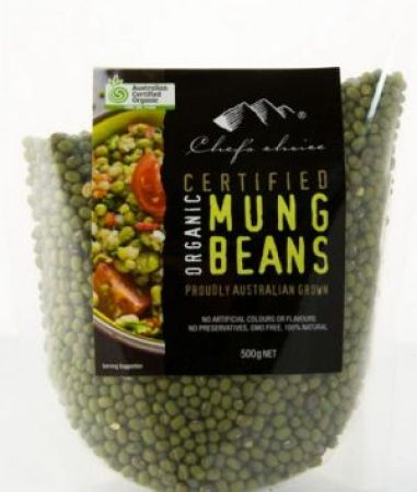 Chefs Choice Organic Mung Beans