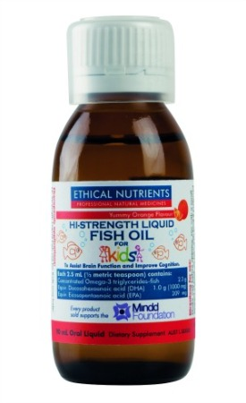 Ethical Nutrients Hi-Strength Liquid Fish Oil for Kids