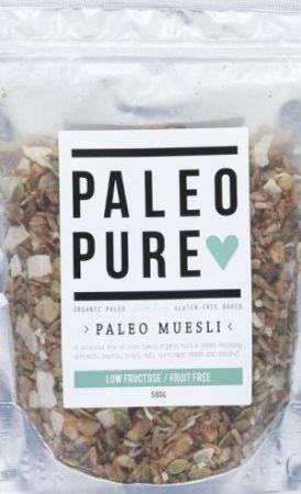 Paleo Pure Muesli Low Fructose