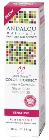 Andalou Naturals 1000 Roses Colour Plus Sheer Nude (SPF 30)
