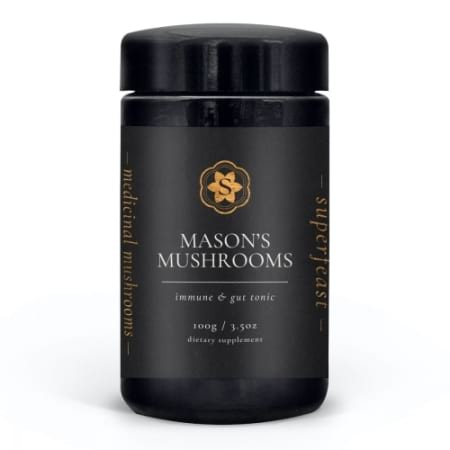 SuperFeast Mason`s Mushrooms Immune and Gut tonic
