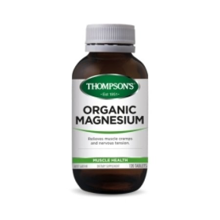 Thompsons Organic Magnesium Tablets