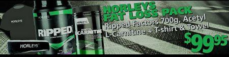 Horleys Fat Loss Stack Pack