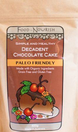 Food to Nourish Decadent Chocolate Cake