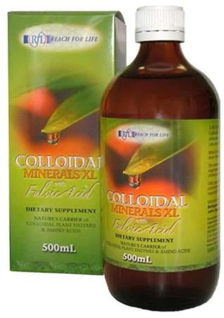 Reach for Life Colloidal Minerals XL