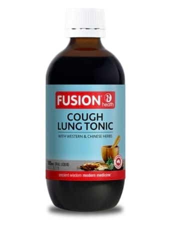 Fusion Health Cough and Lung Tonic - Liquid