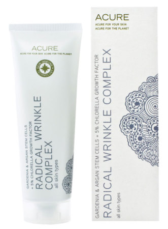Acure Organics Gardenia Argan Stem Cell Chlorella Radical Wrinkle Complex