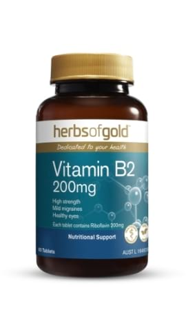 Herbs of Gold Vitamin B2 200 mg