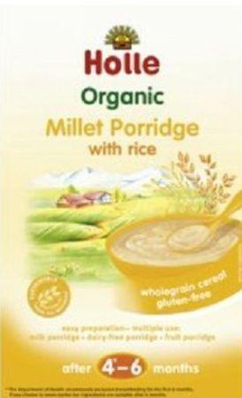 Holle Organic Millet Porridge With Rice