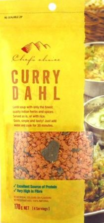 Chefs Choice Indian Curry Dahl