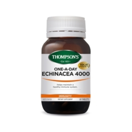 Thompsons One A Day Echinacea 4000 Tablets