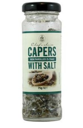 Chefs Choice Capers With Salt