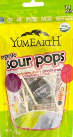 Yum Earth Sour Pops