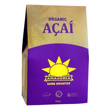 Amazonia Organic Acai Berries Powder