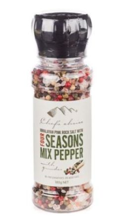 Chefs Choice Himalayan Pink Rock Salt With Chilli