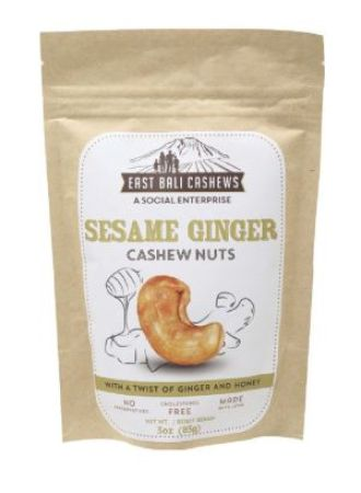 East Bali Cashews Sesame Ginger
