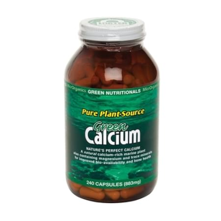 Green Nutritionals Calcium Capsules