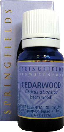 Cedarwood Certified Organic Springfields Essential Oil