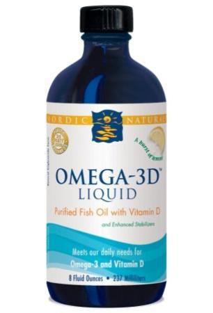 Nordic Naturals Omega 3 D Liquid