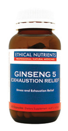 Ethical Nutrients Ginseng-5 Exhaustion Relief