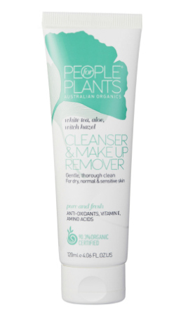 People for Plants White Tea, Aloe and Witch Hazel Cleanser and Make Up Remover