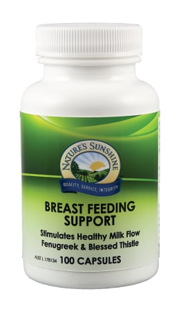 Nature`s Sunshine Breast Feeding Support