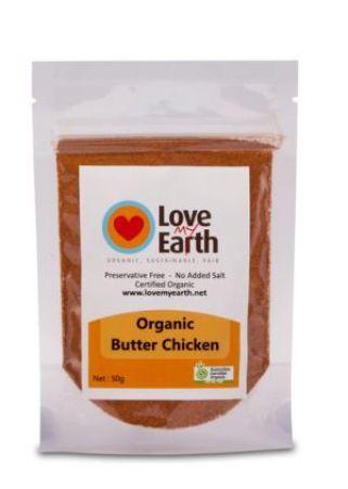 Love My Earth Organic Butter Chicken